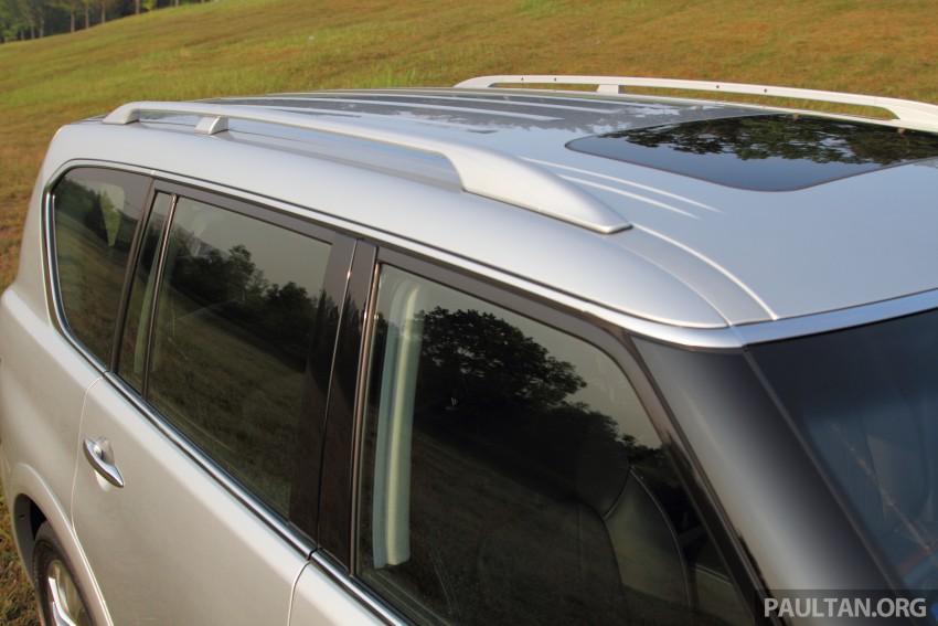 DRIVEN: Infiniti QX80 SUV – an American in Malaysia Image #351134
