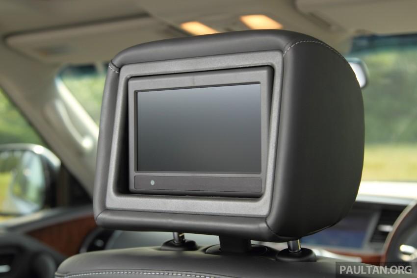 DRIVEN: Infiniti QX80 SUV – an American in Malaysia Image #351078