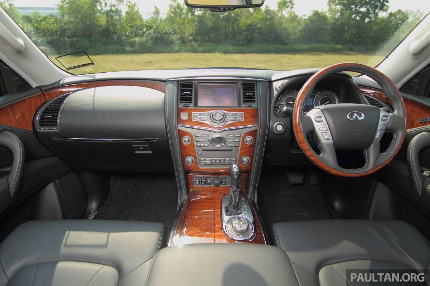 DRIVEN: Infiniti QX80 SUV – an American in Malaysia Image #351065