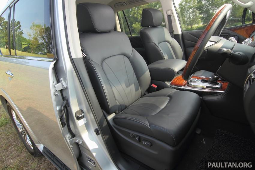 DRIVEN: Infiniti QX80 SUV – an American in Malaysia Image #351067