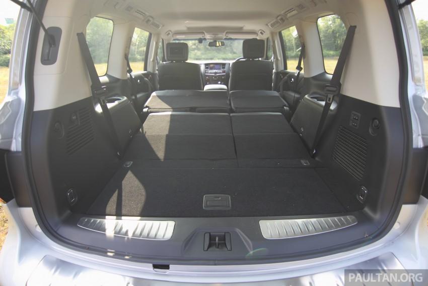 DRIVEN: Infiniti QX80 SUV – an American in Malaysia Image #351069
