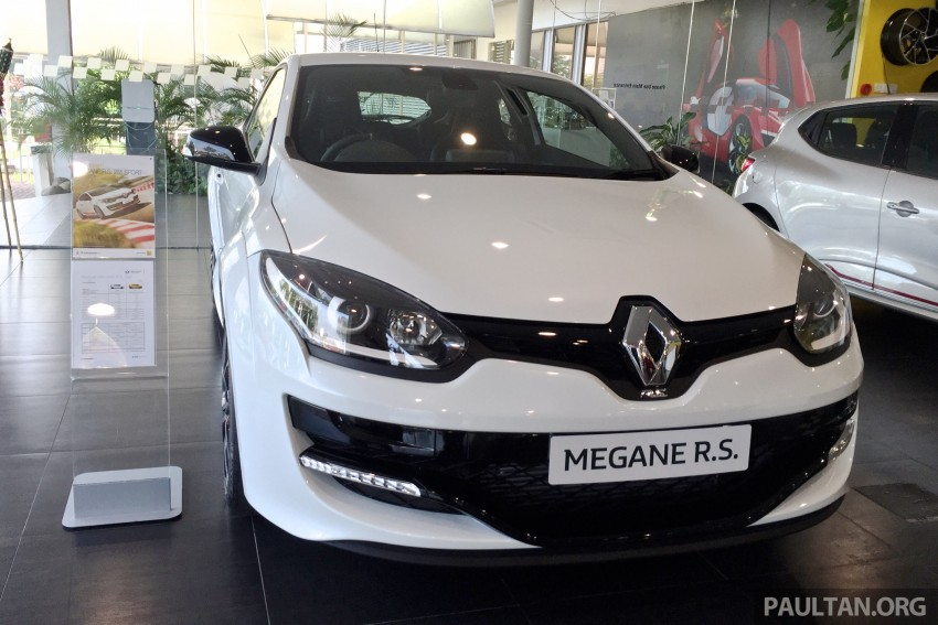 Renault Megane RS 265 Cup on sale in M'sia, RM235k Image #353344