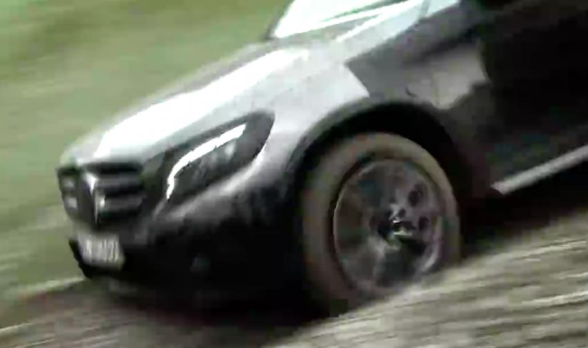VIDEO: Mercedes-Benz GLC teased, debuts tomorrow Image #350898