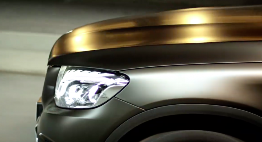 VIDEO: Mercedes-Benz GLC teased, debuts tomorrow Image #350895