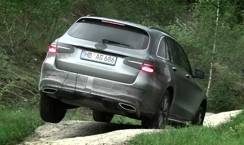 VIDEO: Mercedes-Benz GLC teased, debuts tomorrow Image #350892