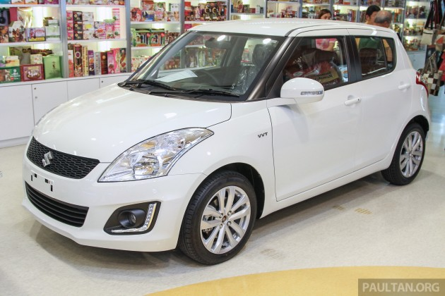 GALLERY: Suzuki Swift facelift at Tesco Mutiara D'sara