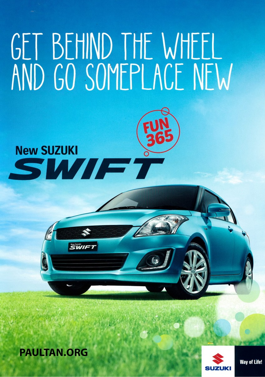 Suzuki Swift facelift officially previewed in Malaysia Image #354390