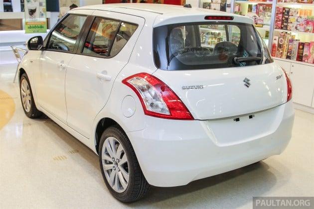 Suzuki Swift Facelift 10