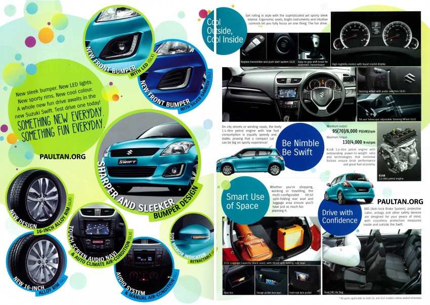 Suzuki Swift facelift officially previewed in Malaysia Image #354392