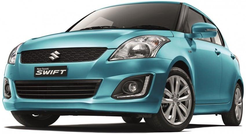 Suzuki Swift facelift: specs, est pricing out, RM59k-73k Image #351165