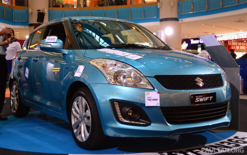 Suzuki Swift facelift officially previewed in Malaysia Image #354269