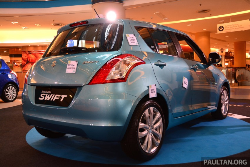 Suzuki Swift facelift officially previewed in Malaysia Image #354270