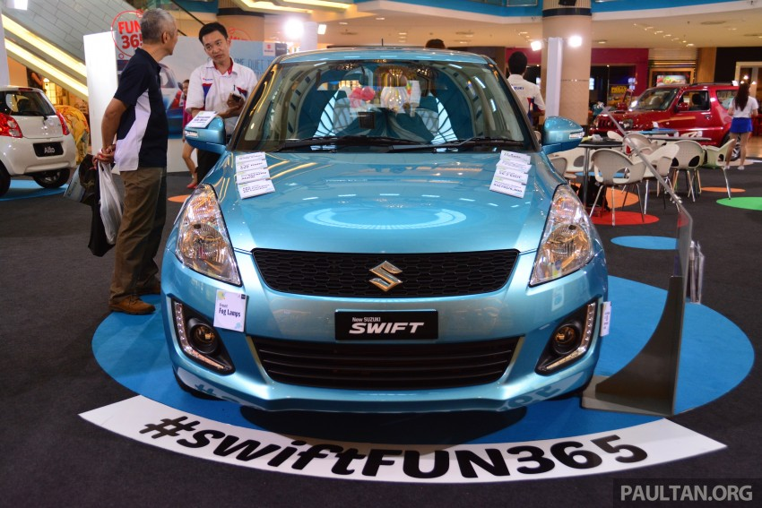 Suzuki Swift facelift officially previewed in Malaysia Image #354271