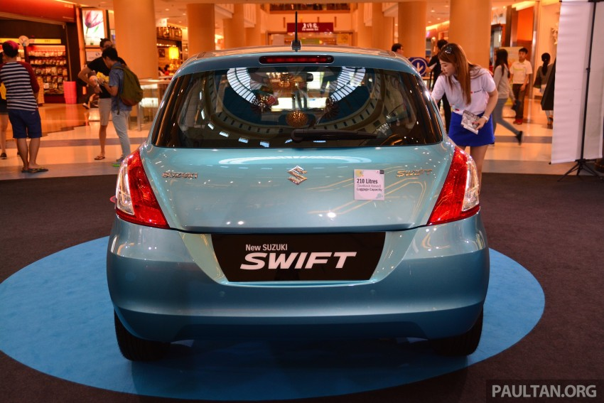 Suzuki Swift facelift officially previewed in Malaysia Image #354272