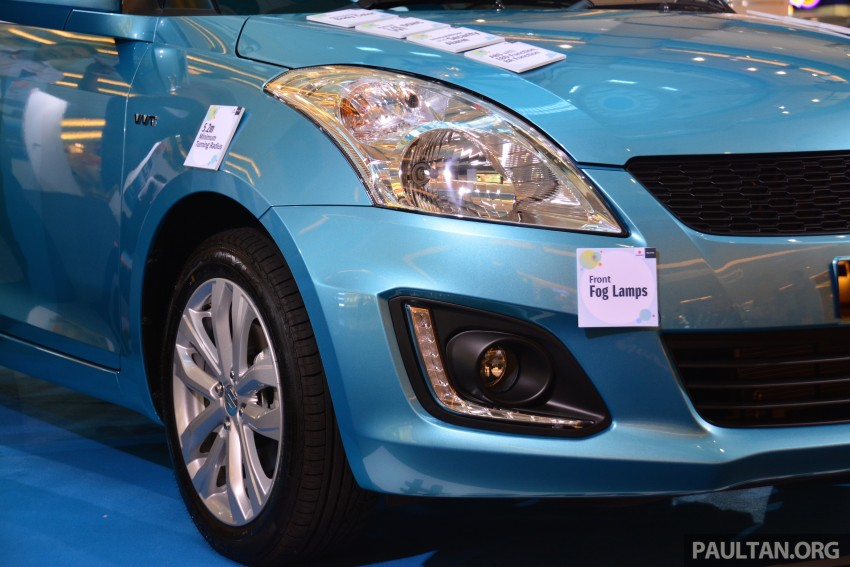 Suzuki Swift facelift officially previewed in Malaysia Image #354273