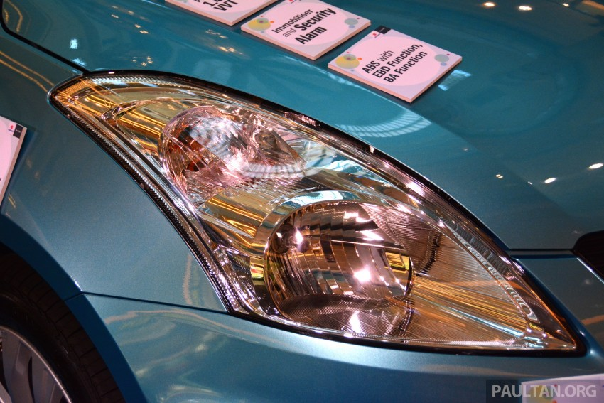 Suzuki Swift facelift officially previewed in Malaysia Image #354275