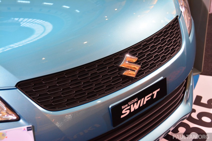 Suzuki Swift facelift officially previewed in Malaysia Image #354276