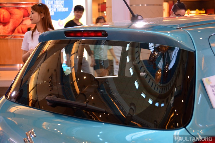 Suzuki Swift facelift officially previewed in Malaysia Image #354283