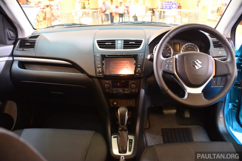 Suzuki Swift facelift officially previewed in Malaysia Image #354287
