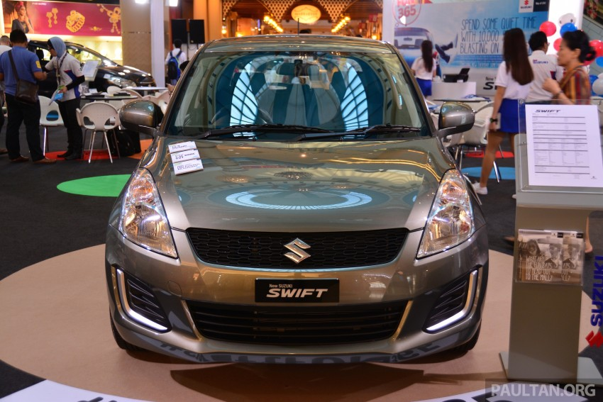 Suzuki Swift facelift officially previewed in Malaysia Image #354322