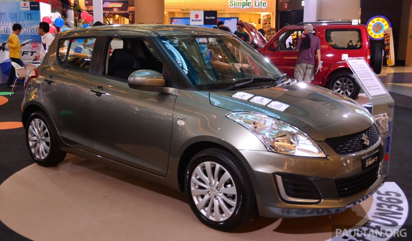 Suzuki Swift facelift officially previewed in Malaysia Image #354323