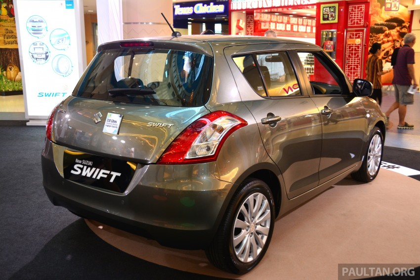 Suzuki Swift facelift officially previewed in Malaysia Image #354324
