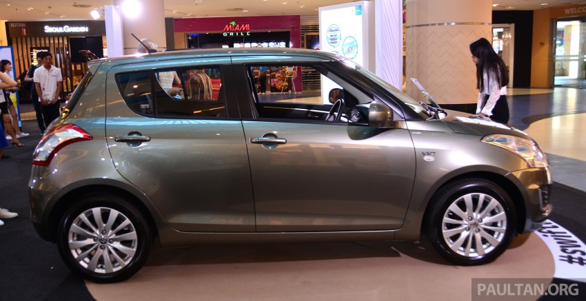 Suzuki Swift facelift officially previewed in Malaysia Image #354325