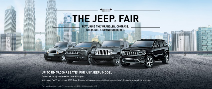 AD: Get up to RM45,000 rebate at The Jeep Fair 2015! Image #347063