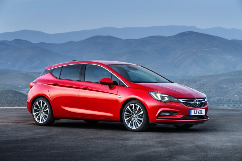 Opel/Vauxhall Astra K unveiled – up to 200 kg lighter Image #345303