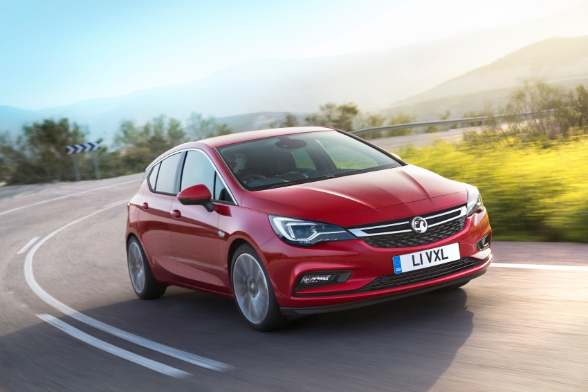 Opel/Vauxhall Astra K unveiled – up to 200 kg lighter Image #345304