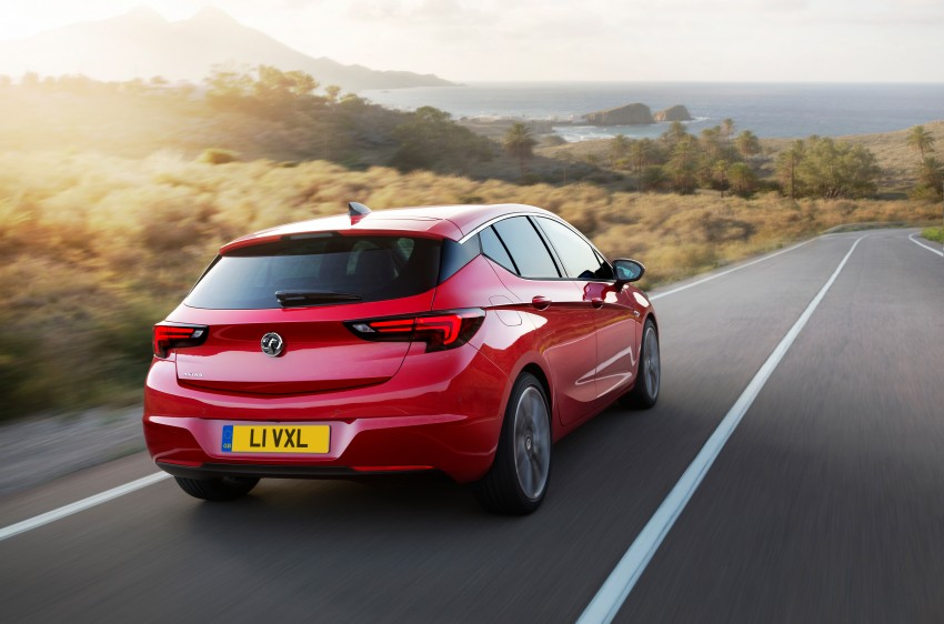 Opel/Vauxhall Astra K unveiled – up to 200 kg lighter Image #345307