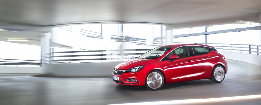 Opel/Vauxhall Astra K unveiled – up to 200 kg lighter Image #345312