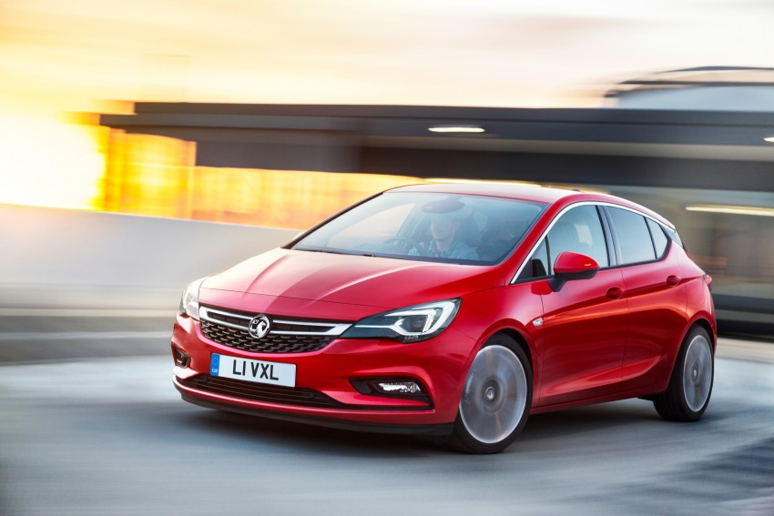 Opel/Vauxhall Astra K unveiled – up to 200 kg lighter Image #345308