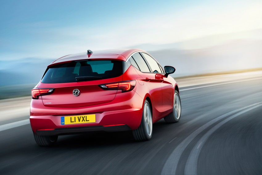 Opel/Vauxhall Astra K unveiled – up to 200 kg lighter Image #345306