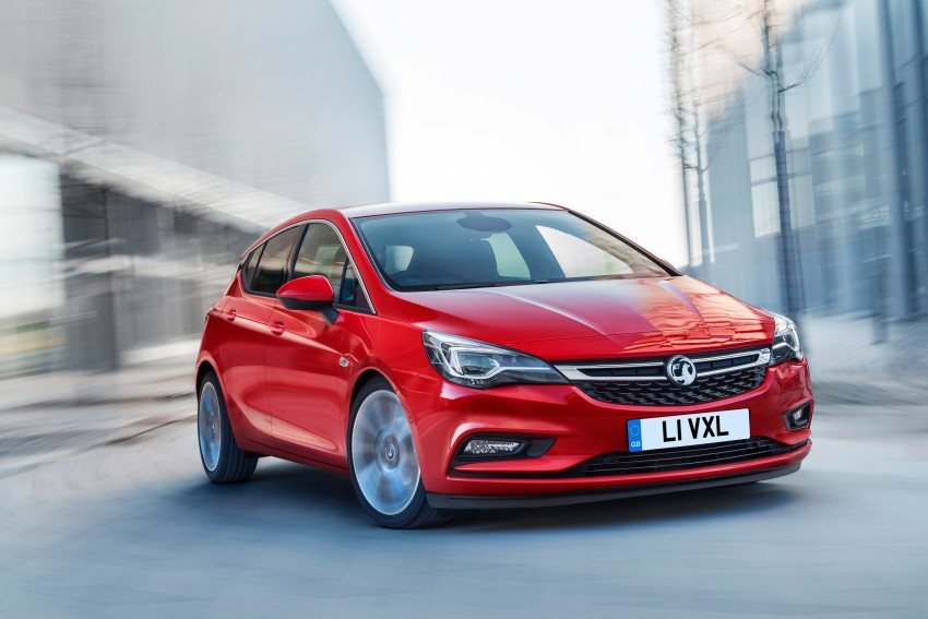 Opel/Vauxhall Astra K unveiled – up to 200 kg lighter Image #345301