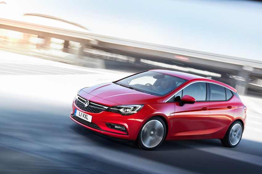 Opel/Vauxhall Astra K unveiled – up to 200 kg lighter Image #345310