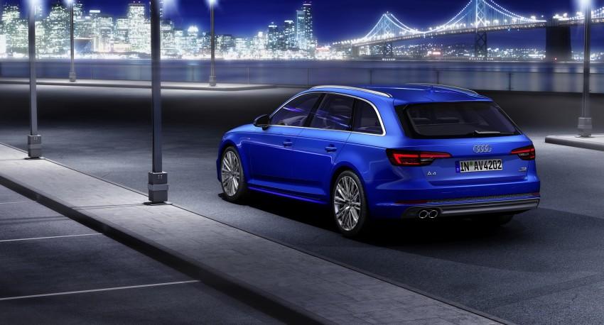 2016 B9 Audi A4 revealed – familiar looks, new tech Image #384171