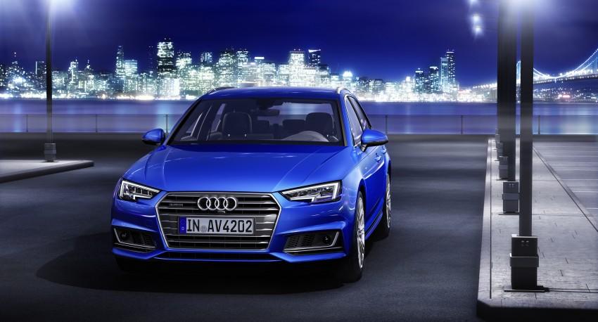 2016 B9 Audi A4 revealed – familiar looks, new tech Image #384172