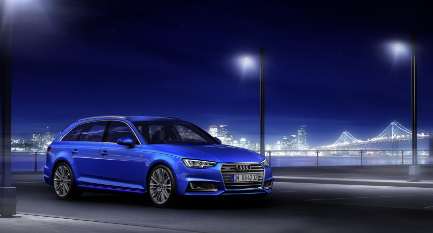 2016 B9 Audi A4 revealed – familiar looks, new tech Image #384173