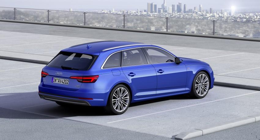 2016 B9 Audi A4 revealed – familiar looks, new tech Image #384174