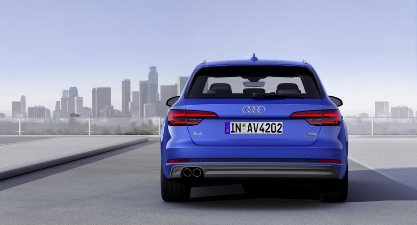 2016 B9 Audi A4 revealed – familiar looks, new tech Image #384175