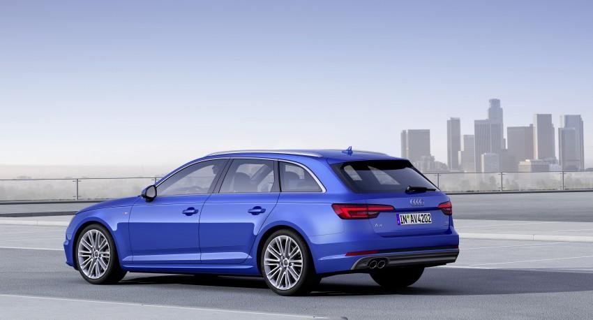 2016 B9 Audi A4 revealed – familiar looks, new tech Image #384176