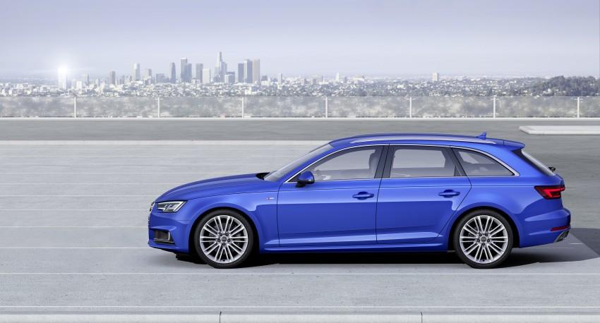 2016 B9 Audi A4 revealed – familiar looks, new tech Image #384177