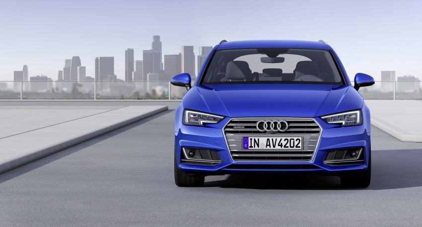 2016 B9 Audi A4 revealed – familiar looks, new tech Image #384179