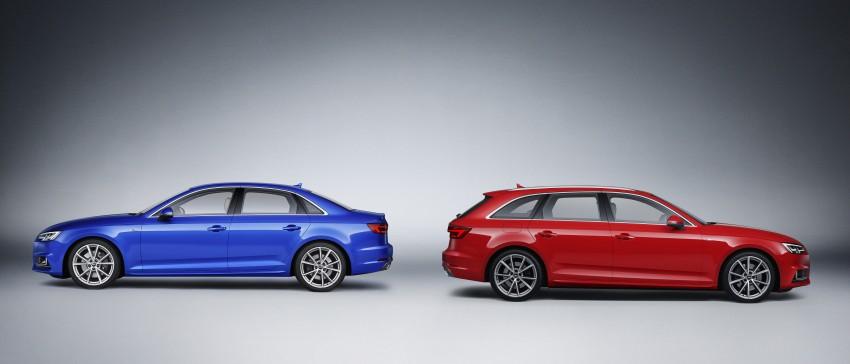 2016 B9 Audi A4 revealed – familiar looks, new tech Image #384181