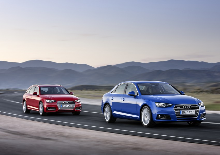 2016 B9 Audi A4 revealed – familiar looks, new tech Image #384182