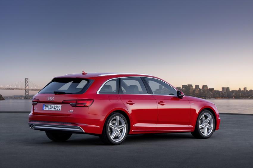 2016 B9 Audi A4 revealed – familiar looks, new tech Image #384187