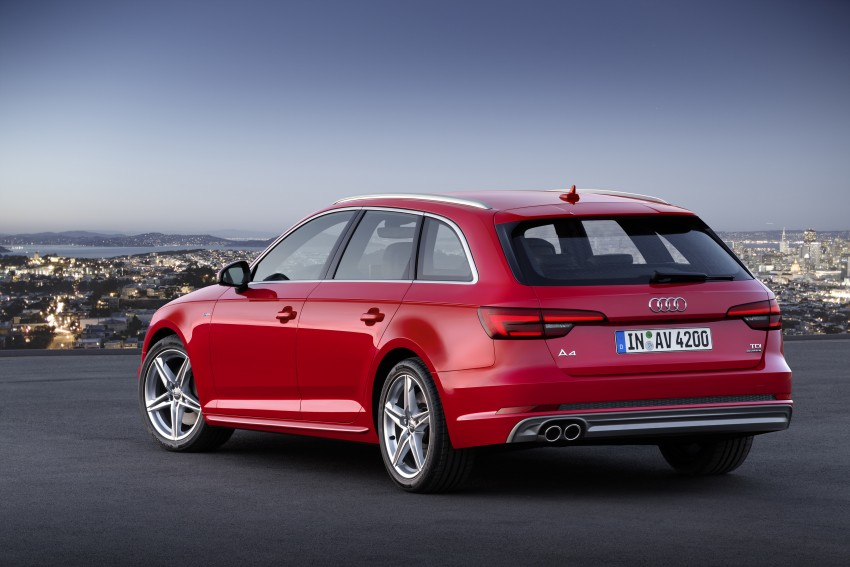 2016 B9 Audi A4 revealed – familiar looks, new tech Image #384190