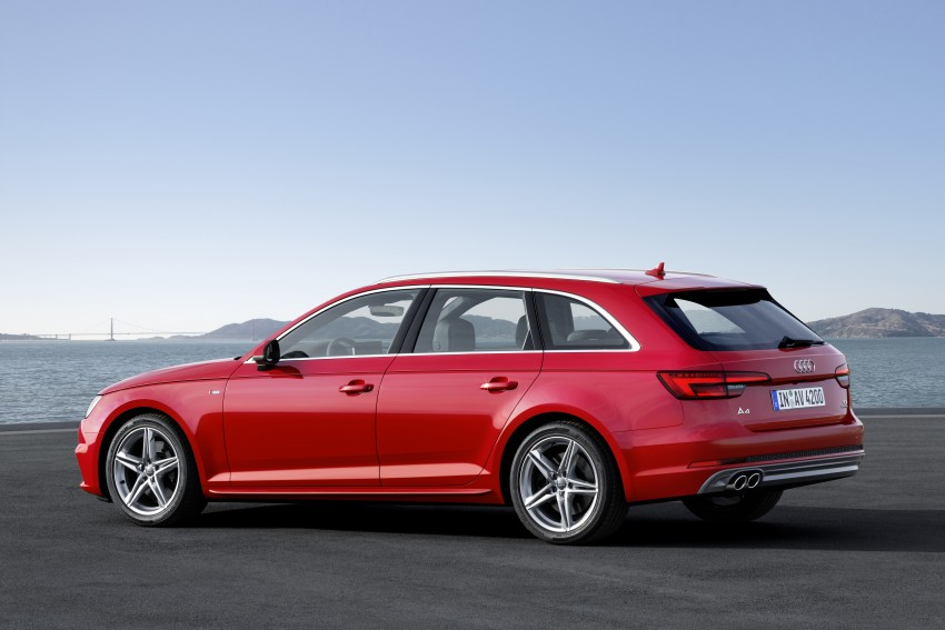 2016 B9 Audi A4 revealed – familiar looks, new tech Image #384191