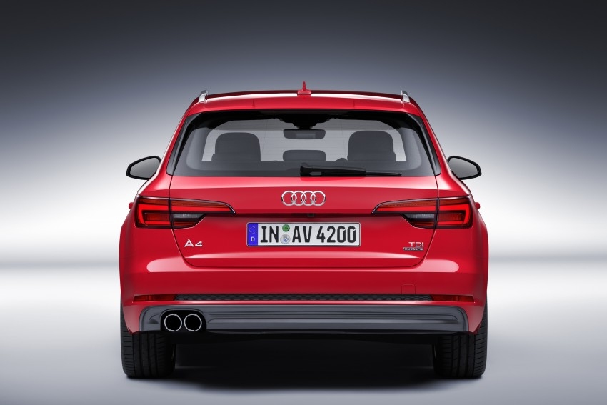 2016 B9 Audi A4 revealed – familiar looks, new tech Image #384193